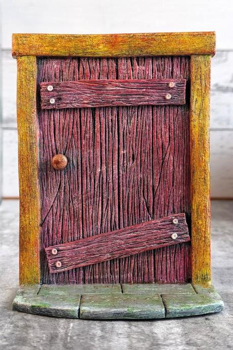 Fairy Door - Fairy Garden Decor - Fairy Garden Accessories - Terrarium Decor