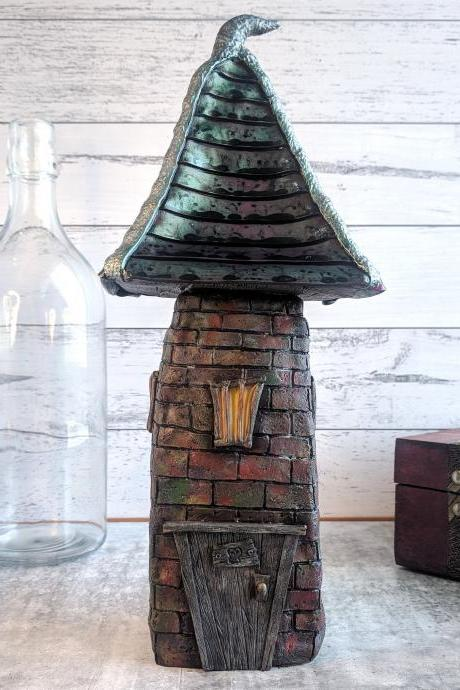 Fairy House - Mushroom Decor - Spooky - Spooky Decor - Fairy tree - Fairy Garden - Fairy Garden Accessories