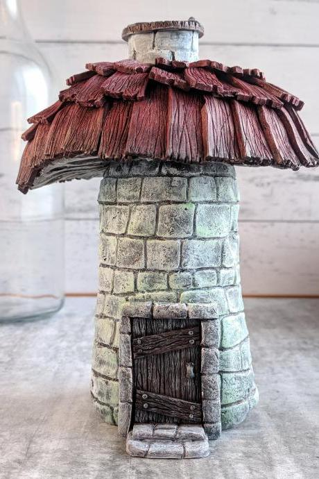 Fairy House - Mushroom Decor - Fairy tree - Fairy Garden - Fairy Garden Accessories