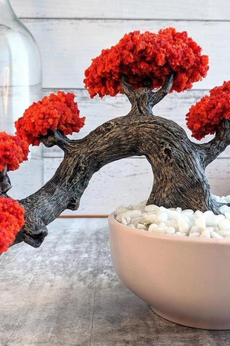 Bonsai - Artificial Bonsai - Polymer Clay Decor