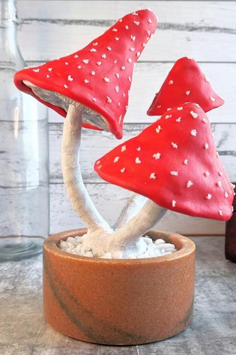 Mushroom Decor - Bonsai - Artificial Bonsai